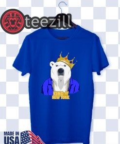 King Of New York Blue T-Shirts