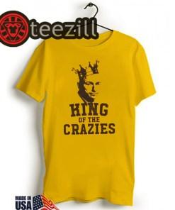 King of The Crazies Shirt The Kirk Minihane Tshirt