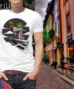 Baby Yoda Mandalorian Star Wars Kawaii King Shirt T-shirts