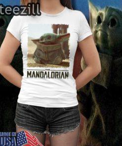 Baby Yoda Mandalorian The Child TShirt