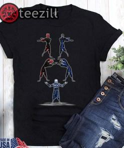 Darth maul and night king fusion dance shirt
