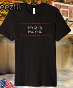 Donald Trump Premium T-Shirt No Quid Pro Quo