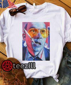 Fear and loathing las vegas hunter thompson dr gonzo raul duke retro shirts