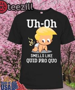 Funny Trump Baby Quid Pro Quo Impeachment Shirts