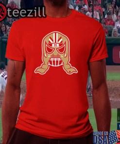 George Kittle 85 Lucha Mask T-Shirts