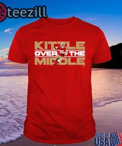 Kittle Over The Middle Unisex Shirt