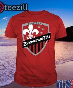 Logo Bienvenue Titi - Thierry Henry Shirt