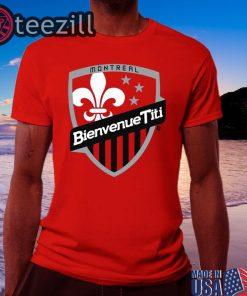 Logo Bienvenue Titi - Thierry Henry TShirt