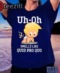 Quid Pro Quo Funny Anti Trump Baby Shirts