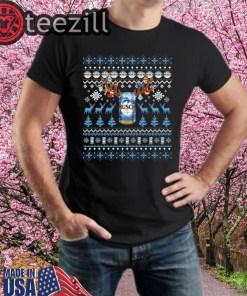 Reinbeer Busch Sweatshirts Reindeer Beer Christmas Shirt Beer Ugly Sweater Xmas Gift