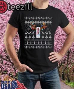 Reinbeer Coors Light Sweatshirts Reindeer Beer Christmas Shirt Beer Ugly Sweater Xmas Gift