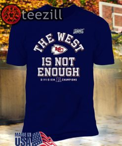AFC The West Is Not Enough Division Champion T-Shirt