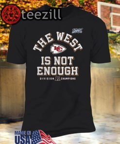 AFC The West Is Not Enough Division Champion TShirt