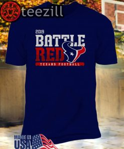 Houston Texans Football Battle Red 2019 Unisex T-shirts