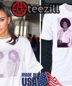 Kim Kardashian Jfk T Shirt - Michael Jackson & Prince T Shirt