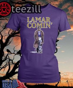 Lamar Comin Shirts Lamar Comin 8 T-Shirt