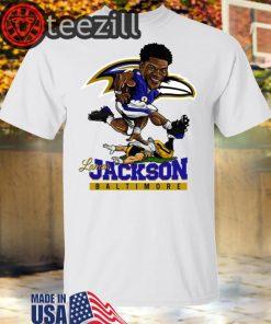 NBA Lamar Jackson Baltimore Ravens Shirt