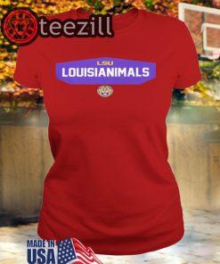 Logo LSU Louisianimals TShirt