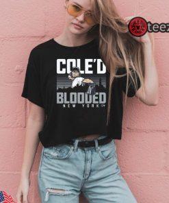 Men's Cole'd Blooded Bronx Shirts Baseball Tshirt