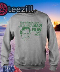 'Milwaukee Journal's Run For Kids' Shirt T-shirt