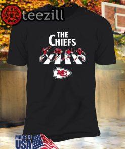 NFL Football Kansas City Chiefs The Beatles Rock Band T-Shirts