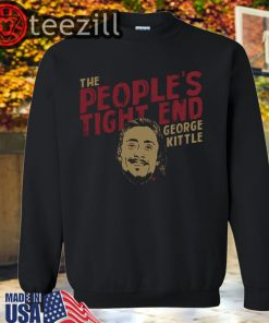 The People's Tight End TShirt George Kittle Licensed