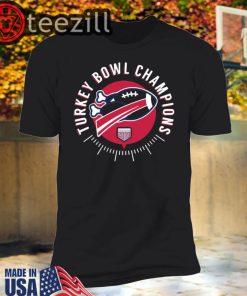 Turkey Bowl Champions 2019 Shirts