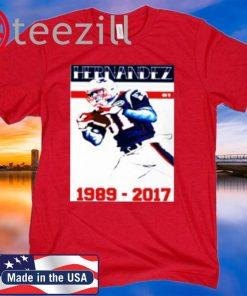 Aaron Hernandez RIP 2020 T-Shirts