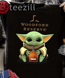 Baby Yoda Hug Woodford Reserve TShirt