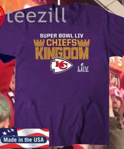 CHIEFS KINGDOM Shirt Kansas City Chiefs Super Bowl LIV Bound Hometown Final Drive Quoste Tee