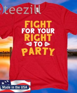 Fight For Your Right KC To Party T-Shirt