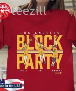 Los Angeles La Block Party Shirt Quotes LA