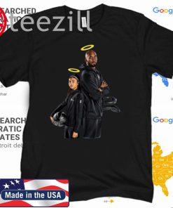 RIP Black mamba Kobe Bryant and Gigi Bryant Tee Shirt