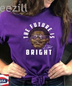 The Future Is Bright Shirt – Lamar Jacskon Sunglasses T-Shirt