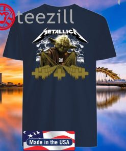 Yoda Metallica Master of Puppets Classic Shirt