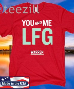You And Me Lfg Warren 46 T-Shirt Officially Licensed