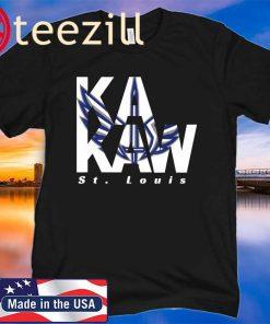 BattleHawks Football St. Louis XFL Ka-Kaw Official Shirt