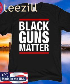 Bernie Sanders 2020 Black Guns Matter T Shirt