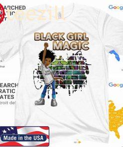 Black Girl Magic I Am Black History Phenomenal Woman Melanin 2020 Shirt