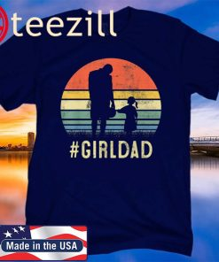 Father And Daughter Vintage GirlDad Gift For Family 2020 Shirt