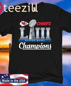 KC Chiefs Super Bowl LIV Champions T-Shirt