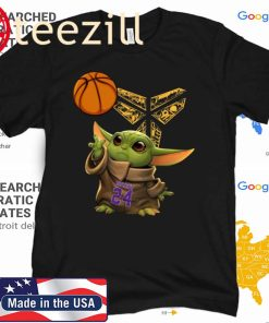 Kobe Bryant Baby Yoda Black Mamba Basketball Shirt T Shirt