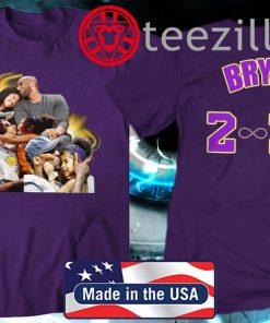 Kobe Bryant Memorial T-Shirt Official From Staples Center Event