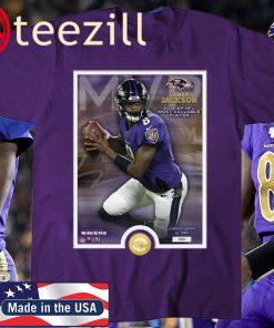 Lamar Jackson 2019 NFL MVP T-Shirt Limited Edition Official