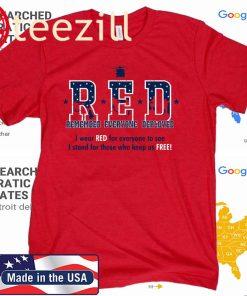 RED Fridays Remembering Everyone Deployed Shirts