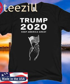 TRUMP 2020 Prayer Large Flag Shirt Trump Political 2020 Tshirt