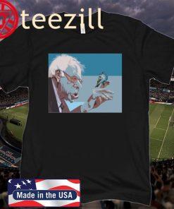 Bernie Sanders Burns Like the Sun T-Shirt