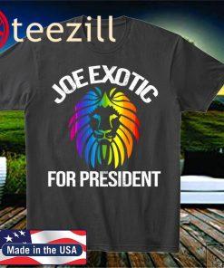 Joe Exotic for Governor President 2020 US Shirt
