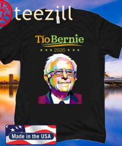 Original Tio Bernie 2020 Latino Hispanic Elections Bernie Sanders T-Shirt