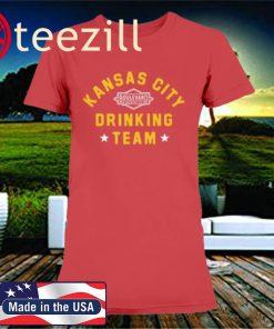 Kansas City Drinking Team Football 2020 Shirt